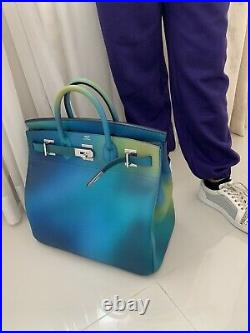 Authentic Hermes Birkin HAC40 Limited Edition Cosmo