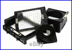 COSMOS CIRCLE 4X5 Large Format Camera with 25-55mm Helicoid