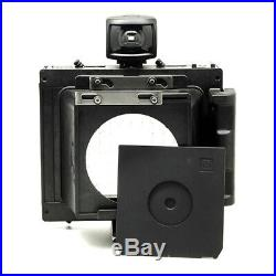 COSMOS CIRCLE 4X5 Large Format Camera with Pinhole Lens Board