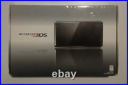 NEW SEALED NOS Nintendo 3DS CTR-001 Launch Edition Handheld System Cosmo Black