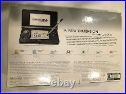 New Sealed! Nintendo 3DS CTR-001 Launch Edition Handheld System Cosmo Black