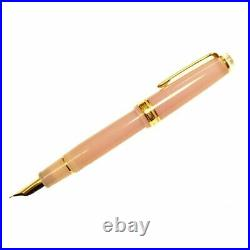 SAILOR Original limited fountain pen Cosmos Pink clear 21K gold Fine (F)