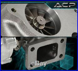 T3/T4 Turbo Charger. 57 A/R Compressor Turbine 400 Hp 5 Bolt Flange For 240Sx