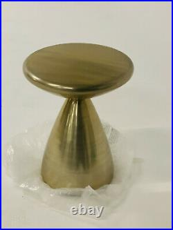 West elm Cosmo Side Table Antique Brass John Lewis