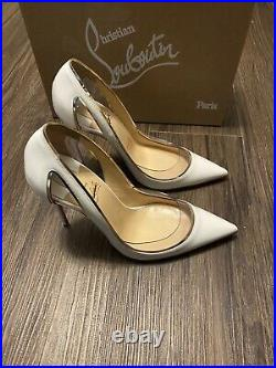Womens Christian Louboutin Cosmo 554 Patent Leather Pumps Sz 38 $800